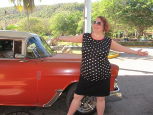Me, in Cuba a year ago- feeling potent, magnificent, abundant, interconnected, and bright.